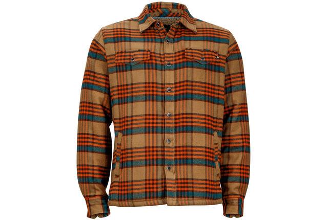 Bruin Overhemd Heren.Marmot Ridgefield Overhemd En Blouse Lange Mouwen Heren Bruin L